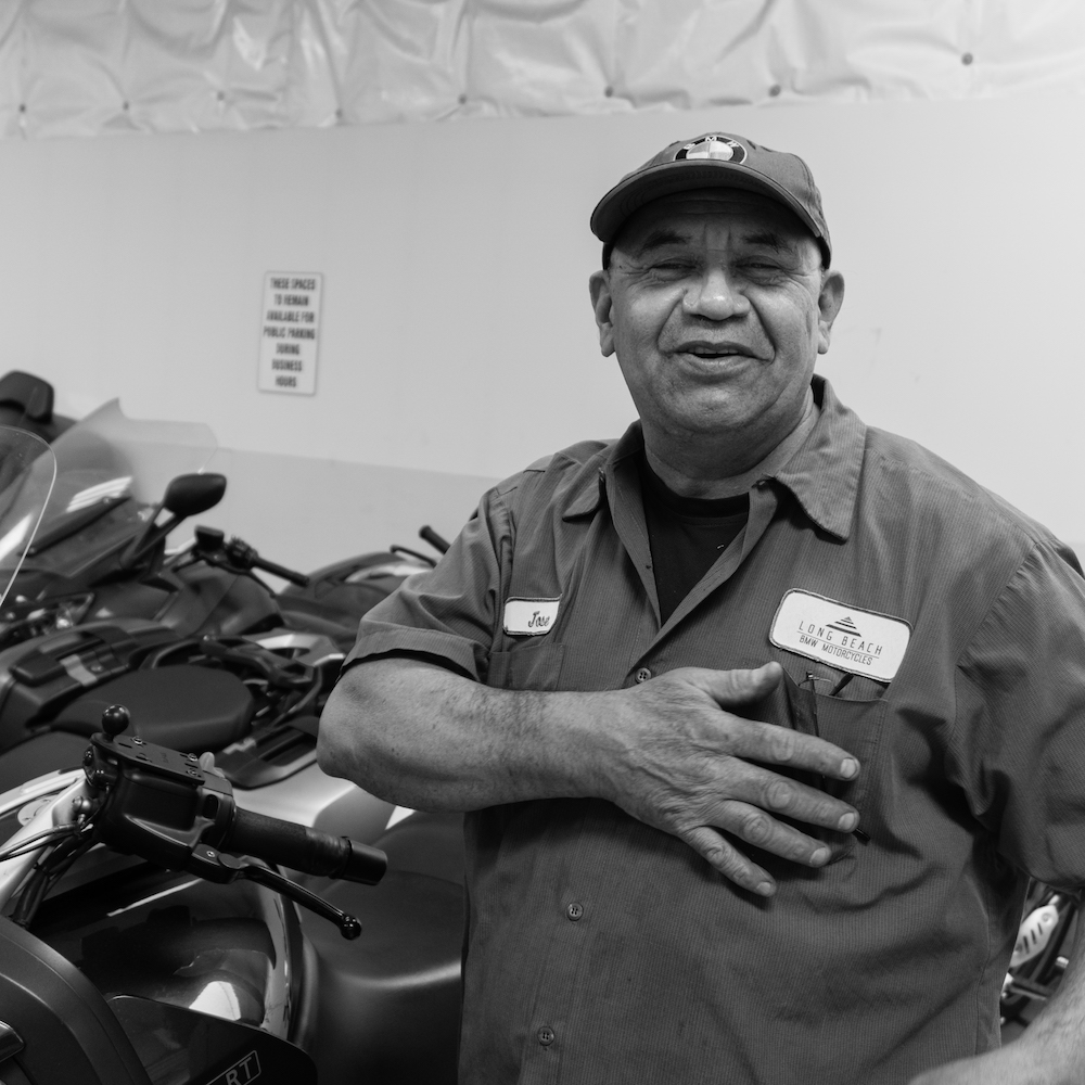 Staff At Long Beach BMW Motorcycles